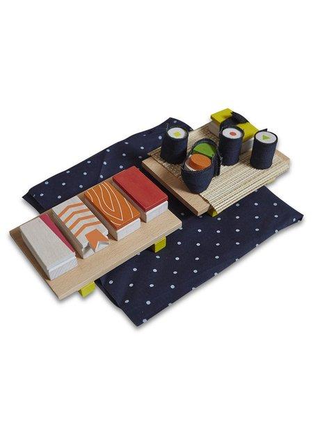 Kids Kukkai Wooden Sushi Set