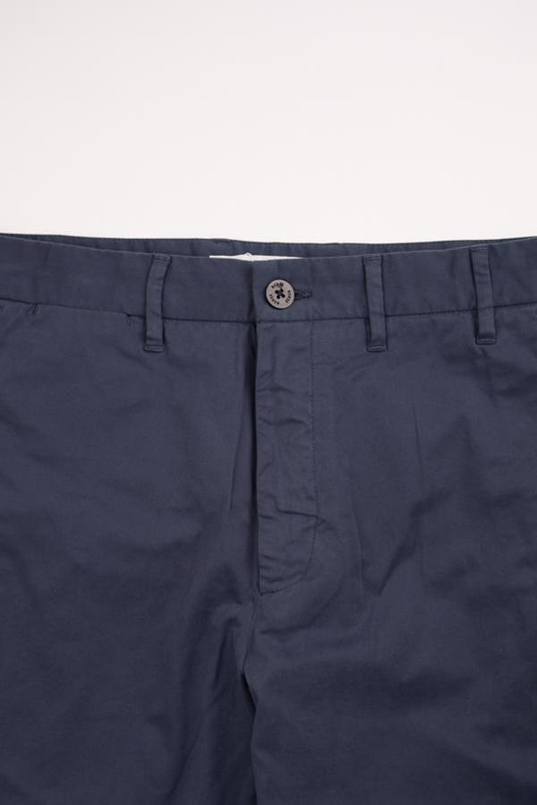 Norse Projects Aros Slim Light Stretch Pants - Navy