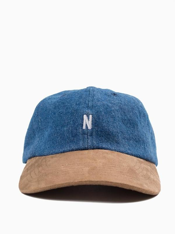 Norse Projects Denim Sports Cap - Light Indigo  6cc2ab68f0a7