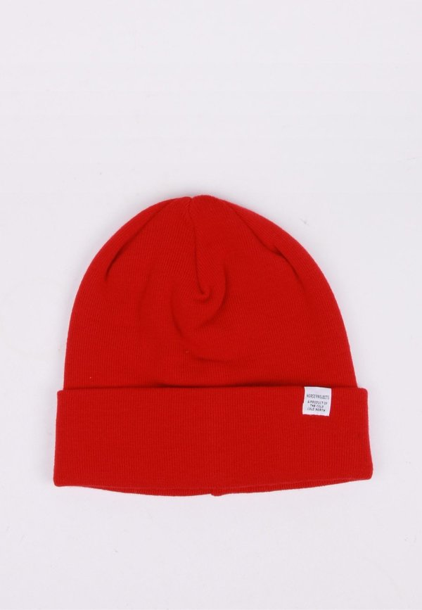a40639d7c60 Norse Projects Top Beanie - Coral Red
