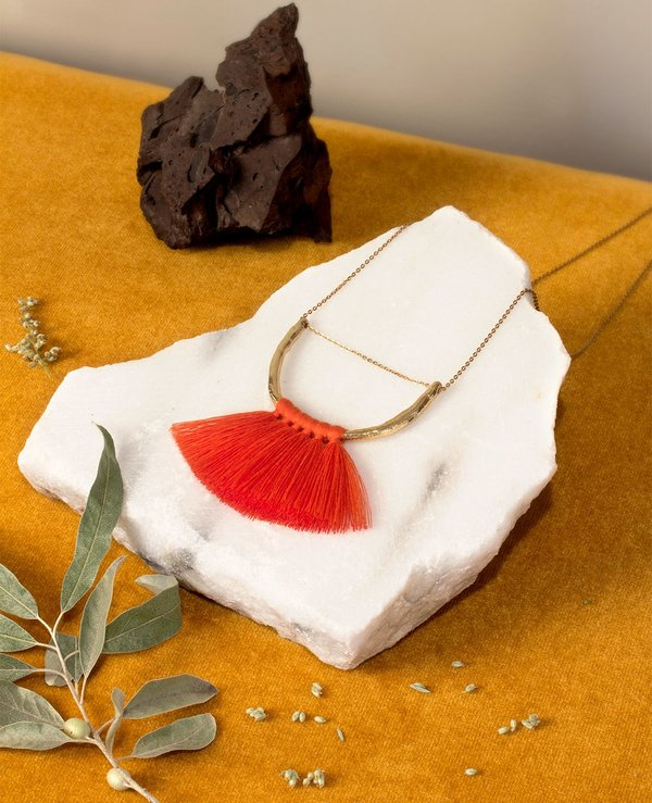 Ora-c jewelry malin necklace - paprika