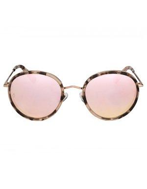 081c263e2c0 Wonderland Montclair Sunglasses - Rose Tortoise Rose Gold