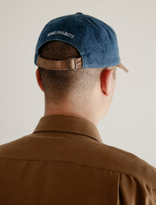 Norse Projects Mens Denim Sports Cap - Light Indigo. sold out. Norse  Projects · Accessories · Hats 011ce1ba326e