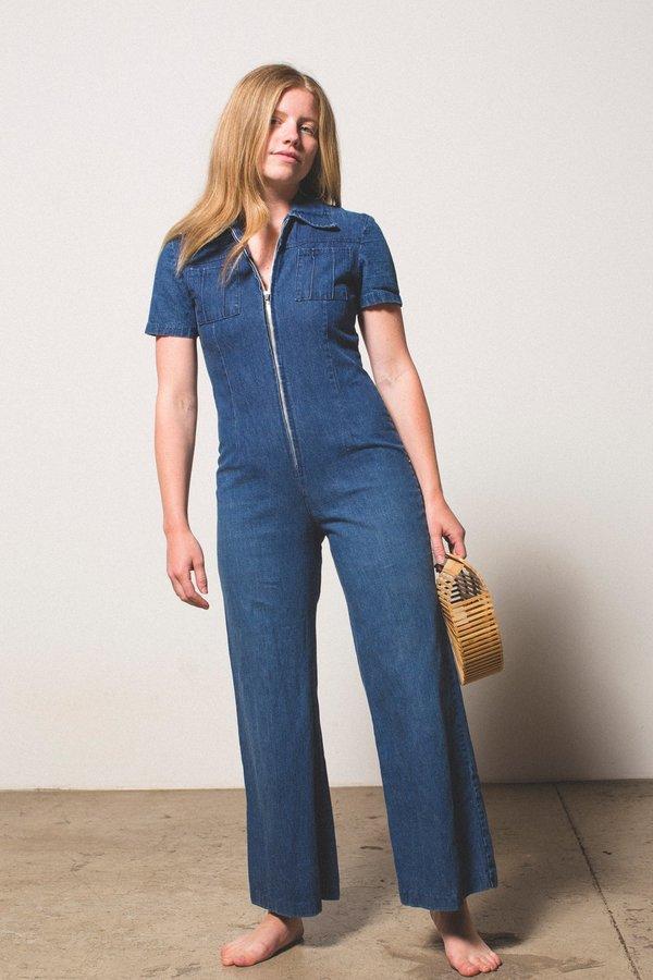 9834e278745 Vintage Preservation Denim Jumpsuit. sold out