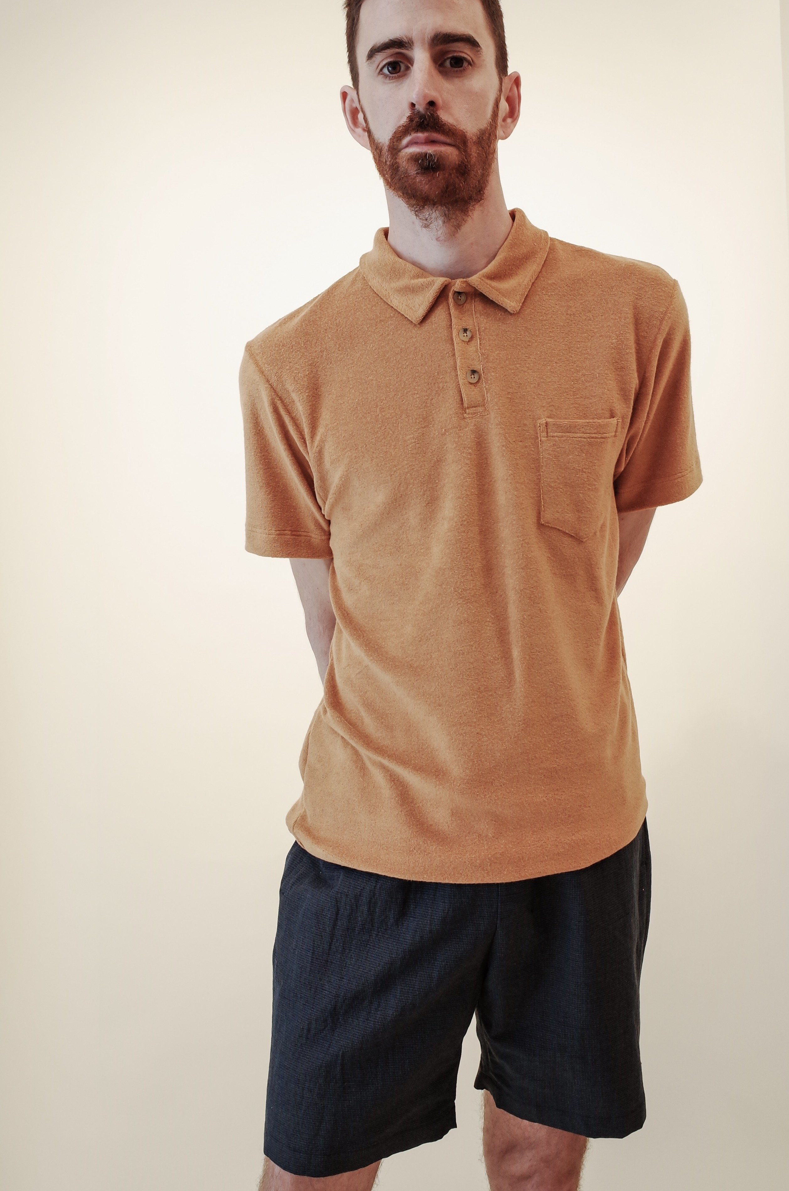 c3c45172383 Howlin by Morrison Mr. Fantasy Polo Shirt - Bronze