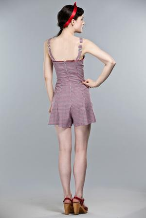 Emmy Check Romper