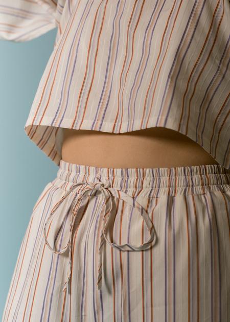 Kinda Sleepwear Unwind Set in Stripe