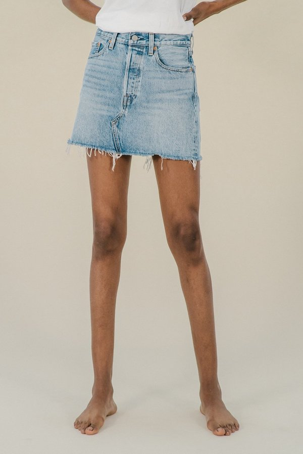 top quality 2019 original fashion Levi's Deconstructed Skirt - Desperate Measures on Garmentory