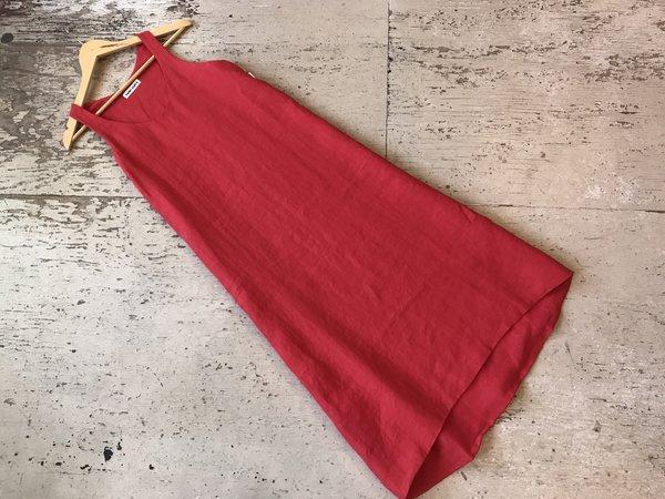 0623712cf7c Rachel Craven Textiles Tank Dress - Desert Paintbrush Red Linen. sold out. Rachel  Craven
