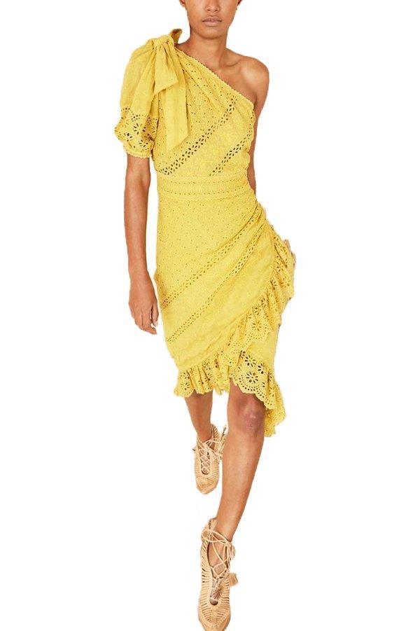 Ulla Johnson Gwyneth Dress - Chartreuse  138874d44