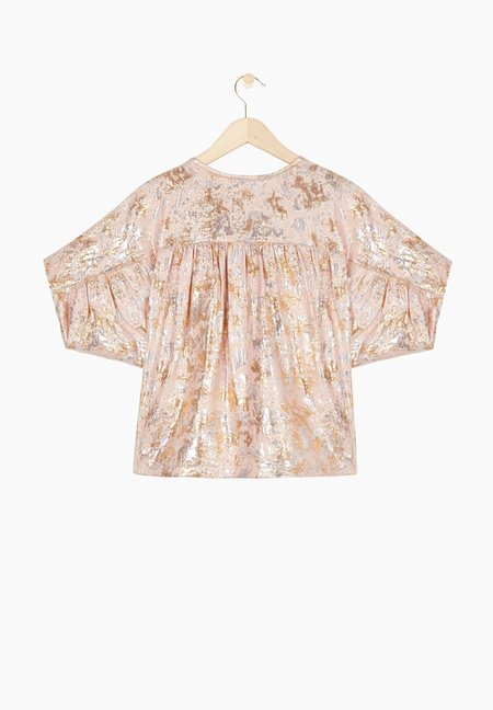 Masscob Wight Blouse - Rose Gold