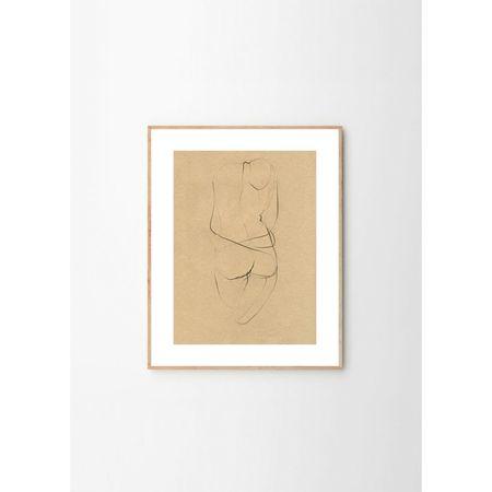 Ekaterina Koroleva Nude 02 Art Print