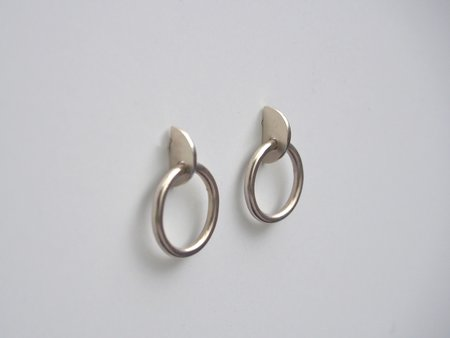 Octave Jewelry Slice Earring - Silver