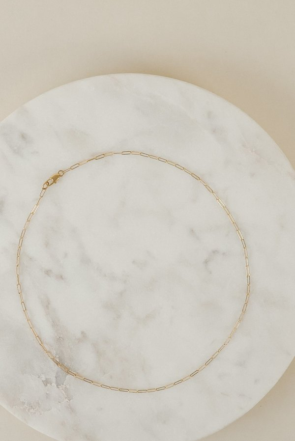 Laura Lombardi Essential Chain Necklace | Brass
