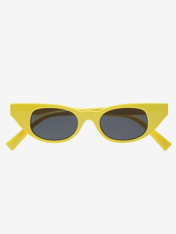 901920d80af26 Adam Selman x Le Specs The Breaker Sunglasses - Yellow