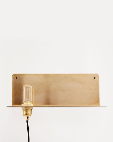 Frama Studio 90 Degree Wall Light - Brass