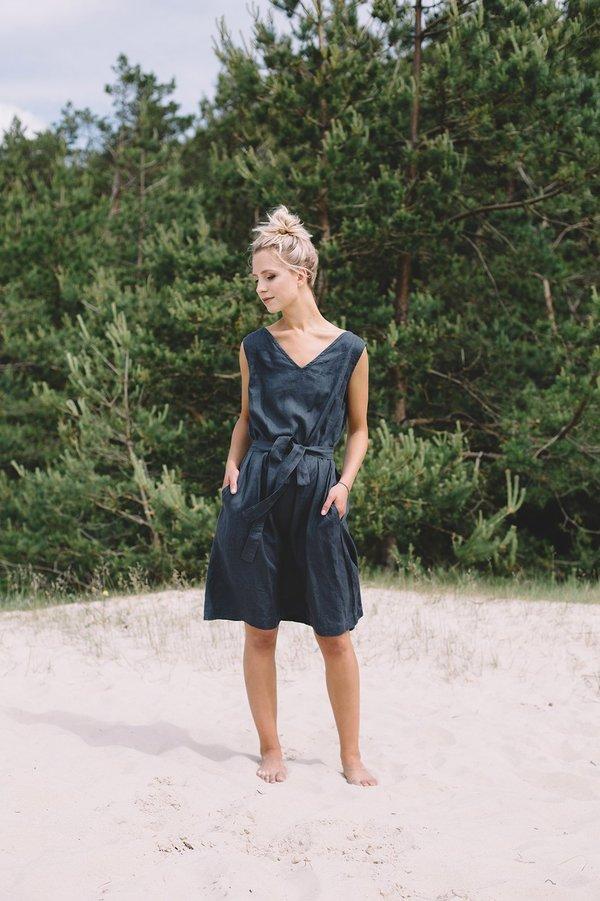 Dori Dress - Graphite Grey on Garmentory
