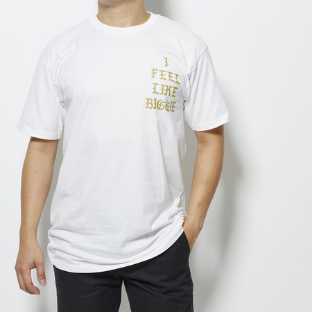 For the Homies Hypnotize (I Feel Like Biggie) Tee - White/Gold