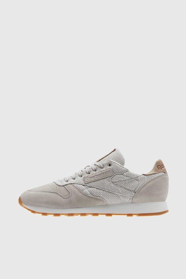 fbf70b22d93 Reebok Classic Leather EBK Sneakers - Sandstone   Chalk   Gum ...