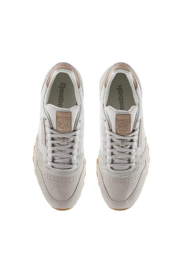 2e618760ed82 Reebok Classic Leather EBK Sneakers - Sandstone   Chalk   Gum ...