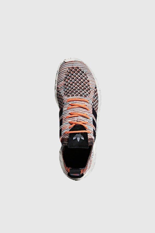 meet a2750 77ab6 Adidas Originals F22 Primeknit Sneakers - Trace OrangeCore BlackCore  Black