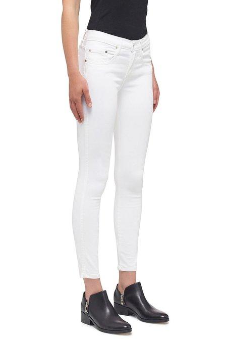 Nobody Denim Geo Skinny Ankle Jean - Power White