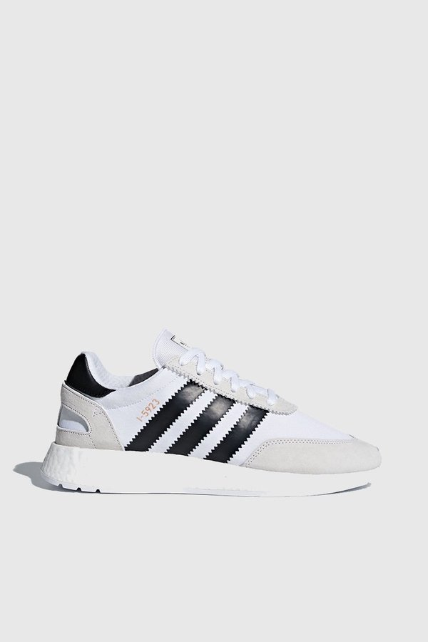 classic fit ever popular new authentic Adidas Originals Iniki Runner Sneakers - White/Black/Grey on Garmentory