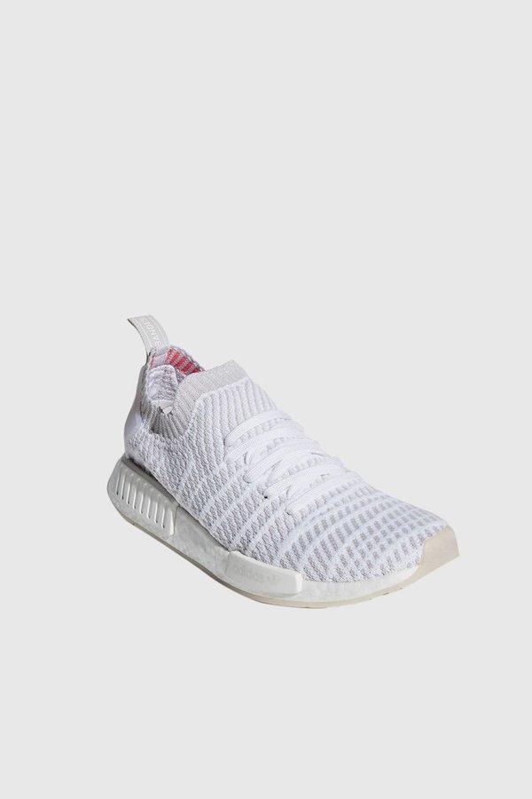 e79ed933a6f Adidas Originals NMD R1 STLT Primeknit Sneakers - White Grey One Solar Pink.   204.00 143.00. Adidas · Shoes