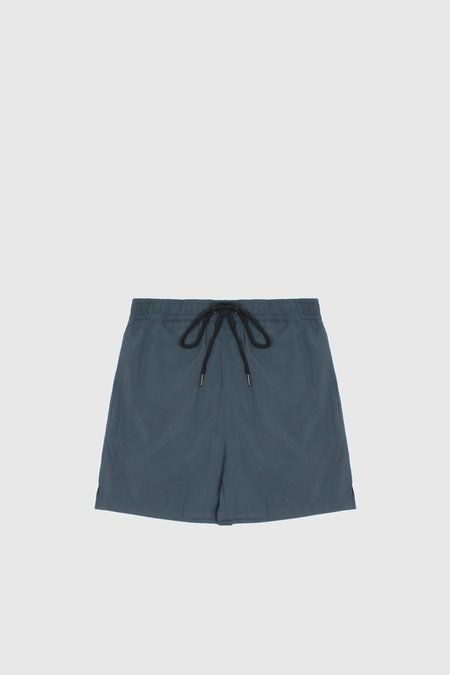 Commoners Nylon Swimmer Shorts - Teal