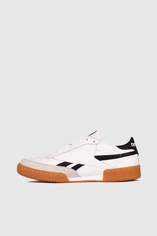 d4d3b01e9195e Reebok Revenge Plus Gum Sneakers - White Snowy Grey Black. sold out. Reebok