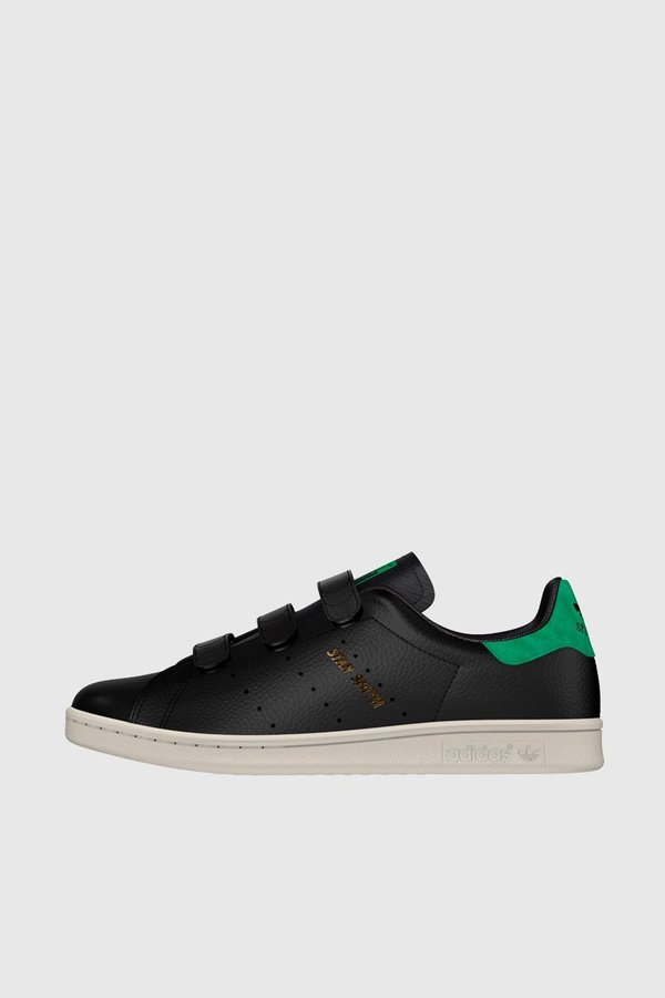 finest selection b8160 b988b Adidas Originals Stan Smith CF - Core Black Black Green   Garmentory