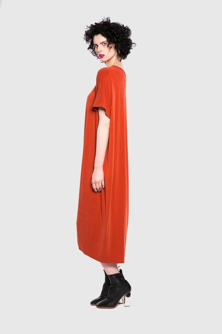 Maaike Technique Dress - Tangerine