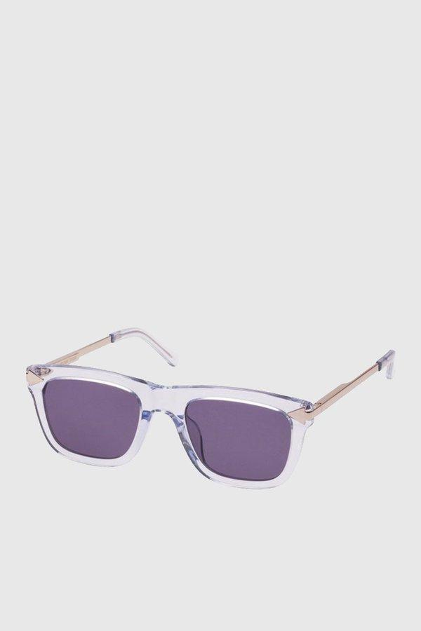 1032d7302e7 Karen Walker Eyewear Voltaire - Crystal Grey Clear