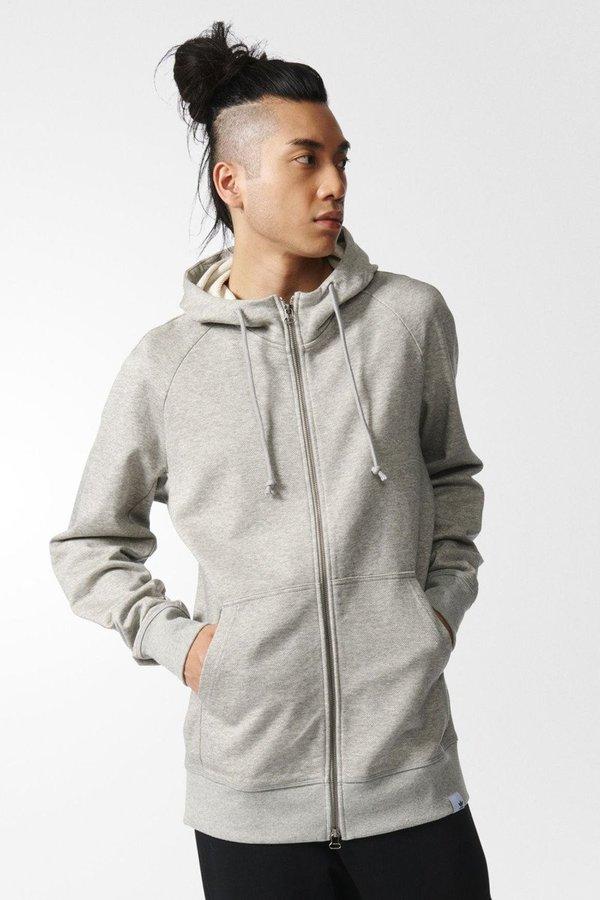 Xbyo Medium Adidas Hoodie Grey Garmentory Heather On Men's wPkn0O
