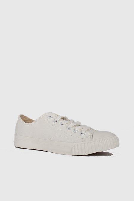 Unisex Bata Bullets Low Cut Sneakers - White/Cream