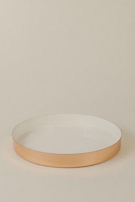 Hawkins NY Small Tray - Copper/White