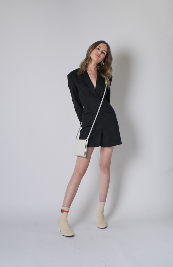 33a6ab276245 Helmut Lang Herringbone Blazer Dress - Black. sold out. Helmut Lang