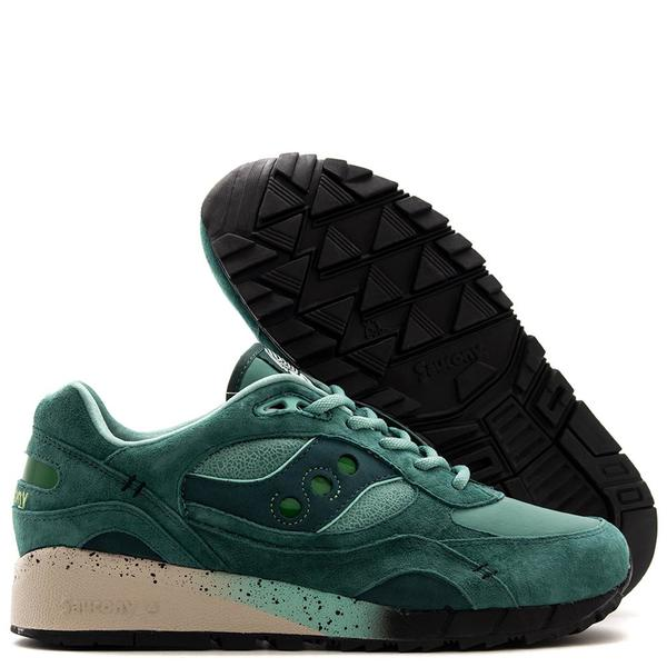 lowest price 32f1e c9da5 Saucony x Feature Shadow 6000 Living Fossil / Green