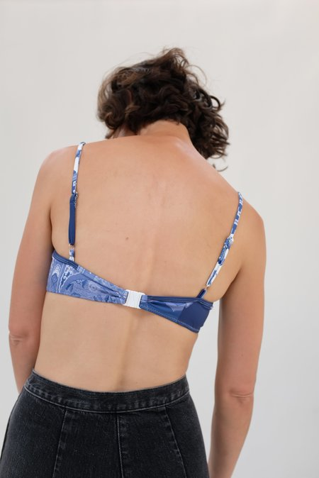 Rachel Comey Veer Top Suit - Blue