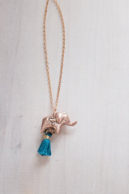 Dawning Collective Elephant Necklace