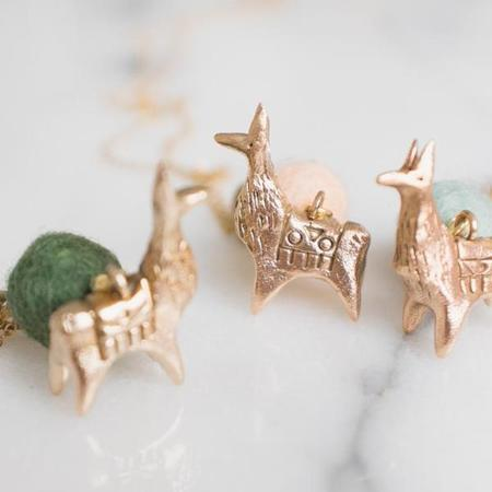 Dawning Collective Llama Necklace