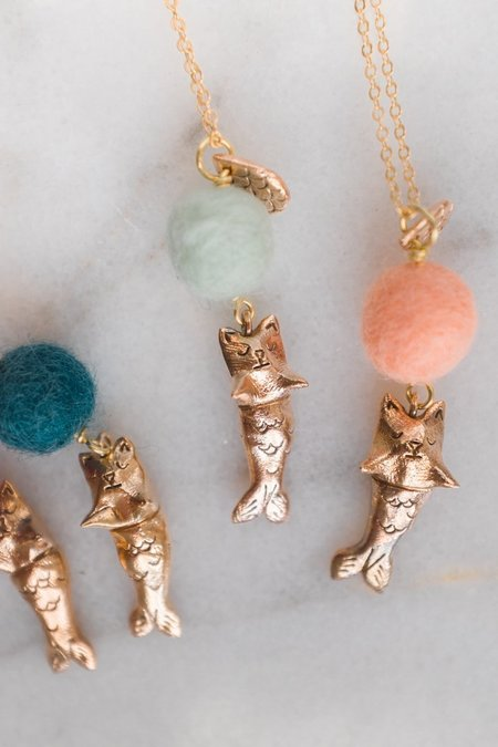 Dawning Collective Purrmaid Necklace