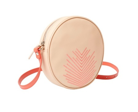 "Lili Radu ""Embroidery V"" Circle Bag"