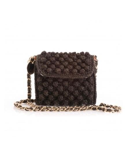 M Missoni Crossbody Bag - Black