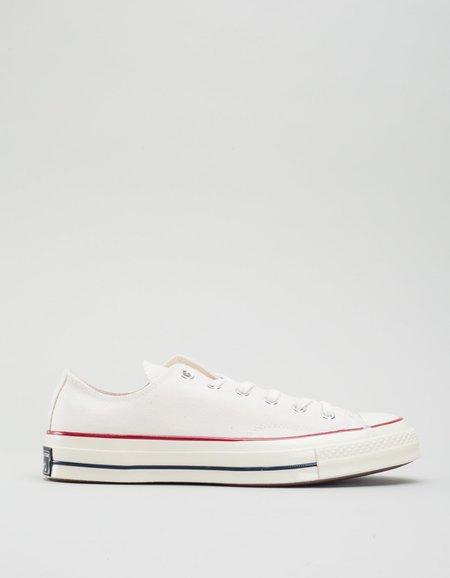 Converse Chuck 70 Low Top - Parchment/Garnet/Egret