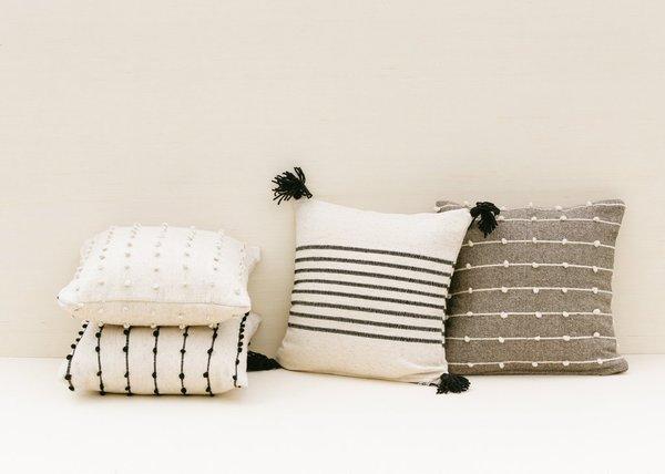 Territory Loops Pillow - Grey