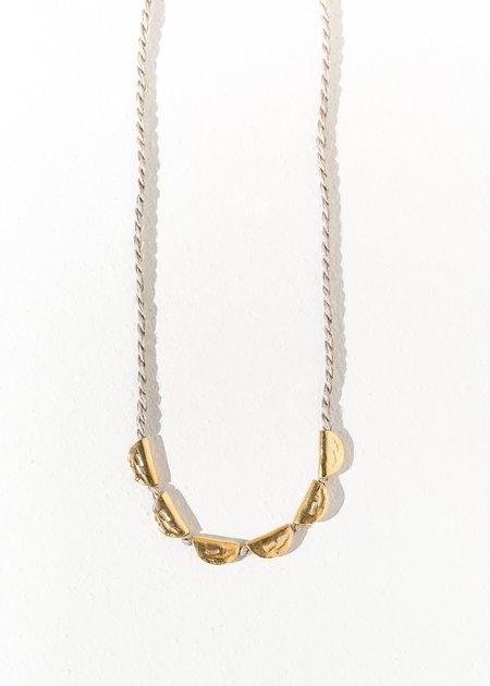 Takara Design Lunar Necklace - Ivory/gold