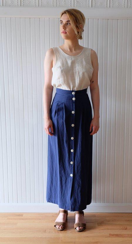 Ilana Kohn Cielo Skirt - Dark Blue