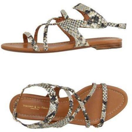Visconti & Du Reau Oxford Sandals - Natural