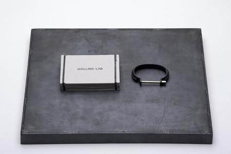 Drilling Lab Clamp Bracelet